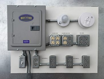 Dedicated Electrical Panel and Outlets