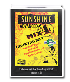Sungro Sunshine Advanced Mix #4 Potting Soil